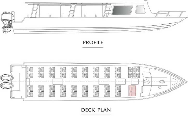 limosea 46-o-Boat Layout