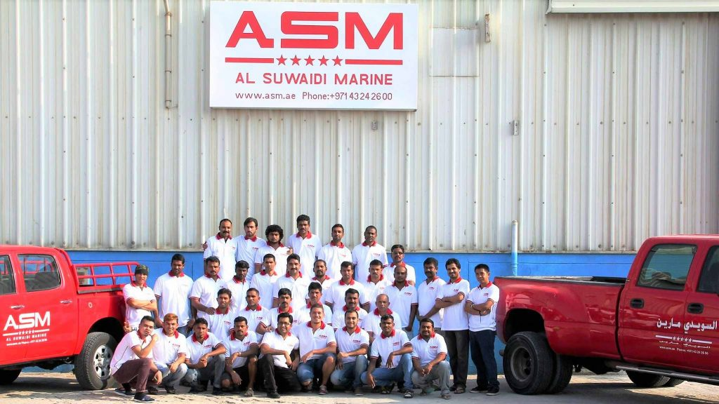 team of ASM Boat